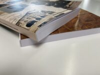 Edition livre dos encollé